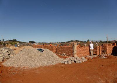 Jour 10   Construction des murs intérieurs et extérieurs