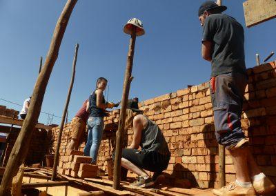 Jour 21   On continue la construction des murs