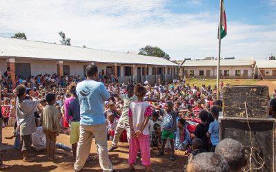 Une journée de Noël à l'école d'Ivory