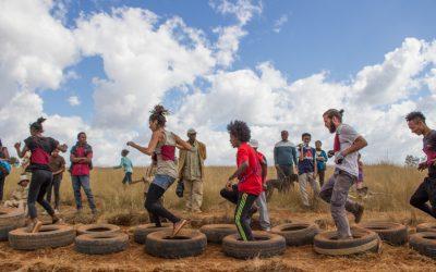 """""""Mandrevo"""" : une course d'obstacles pour l'équipe locale !"""