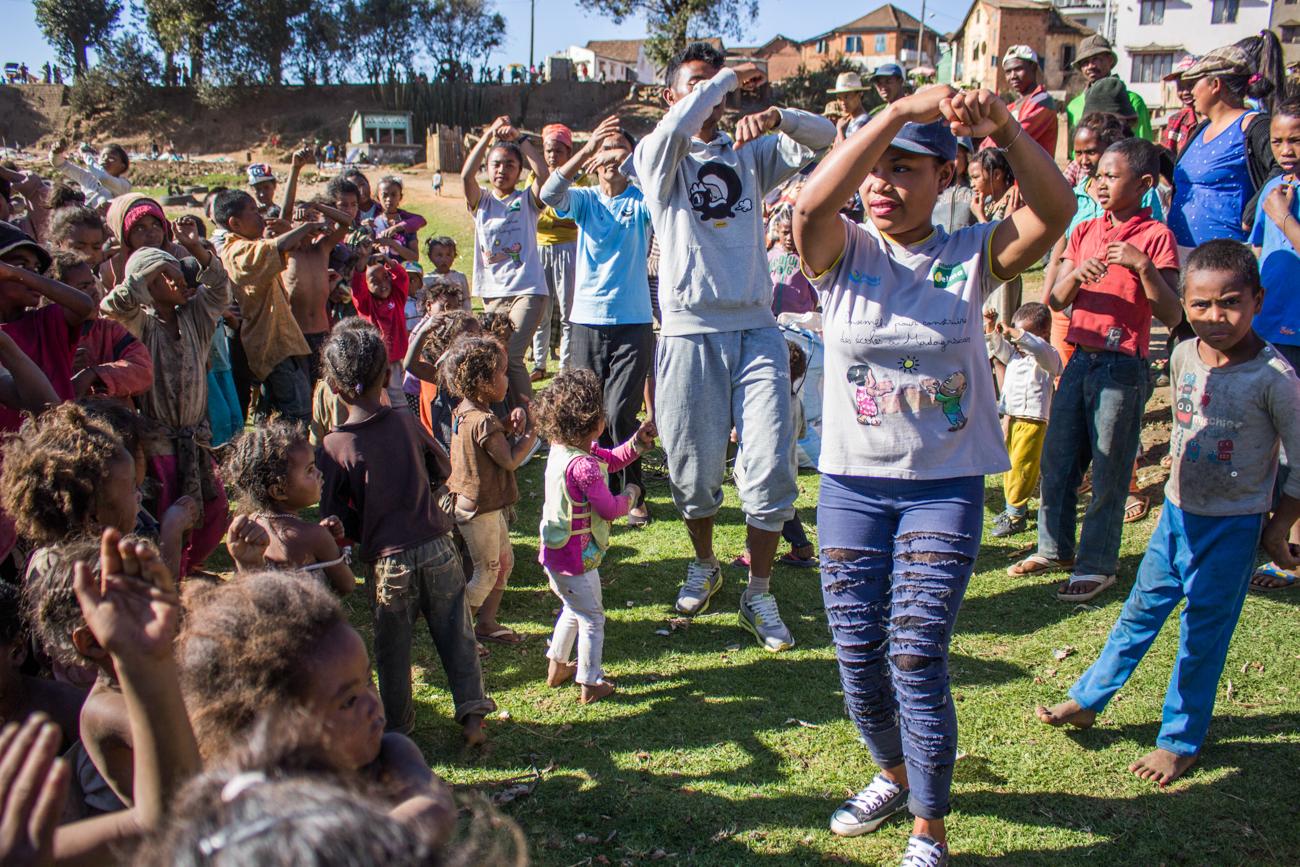 Photo des bénévoles à Madagascar 2