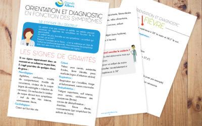Livret Santé : diagnostic et orientation en fonction des symptômes