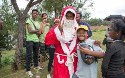Un Noël pour les enfants des rues du Centre d'Hébergement Temporaire