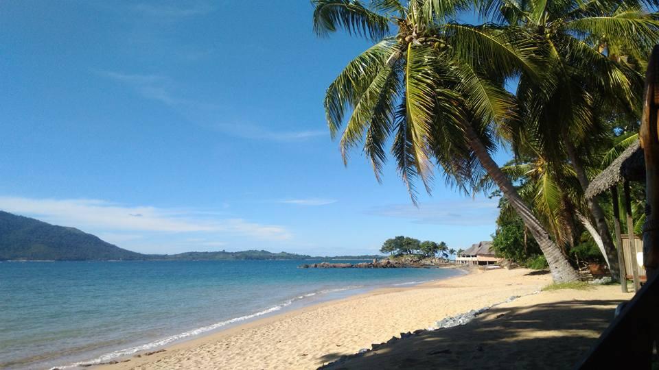 Sur la plage à Madagascar