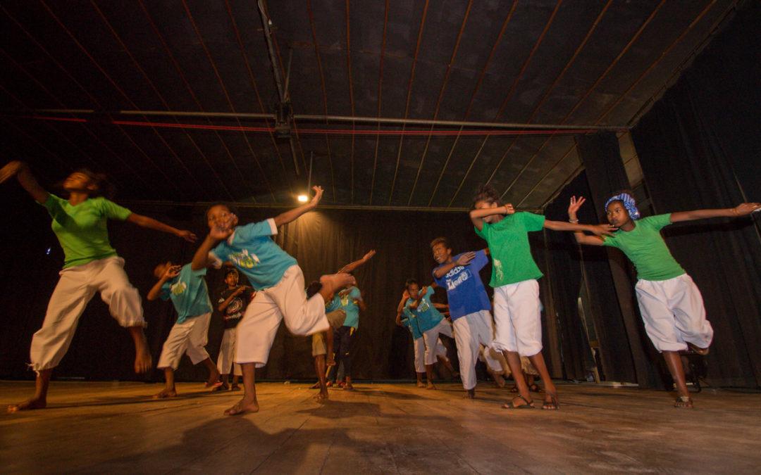 """Une participation rythmée des enfants du CHT à l'évènement """"Danse pour la Paix""""!"""
