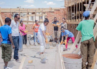 Le 13 septembre 2018 - nettoyage chantier