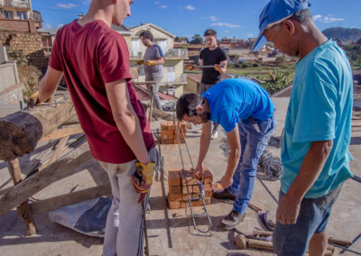 Le 9 juillet 2018 - Atelier de ferraillage