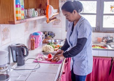 Cuisine - maison d'hôtes à Antsirabe