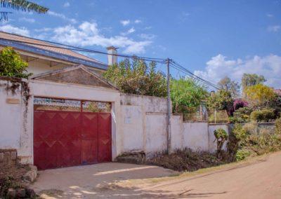 De dehors - Hébergement Antsirabe