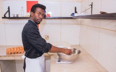 Tojo, ancien de l'Internat et apprenti chef cuisinier