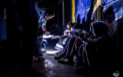 L'Équipe Mobile d'Aide de Grandir à Antsirabe toujours en maraude !
