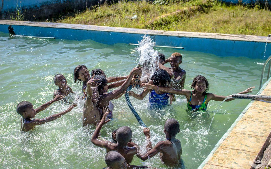 Ranomafana Betafo : la première sortie de l'année pour les enfants du CHT !