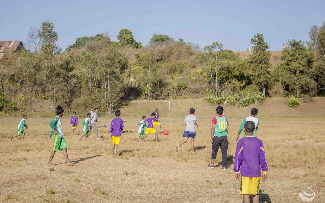Nouvelle activité : du football pour les enfants du CHT !