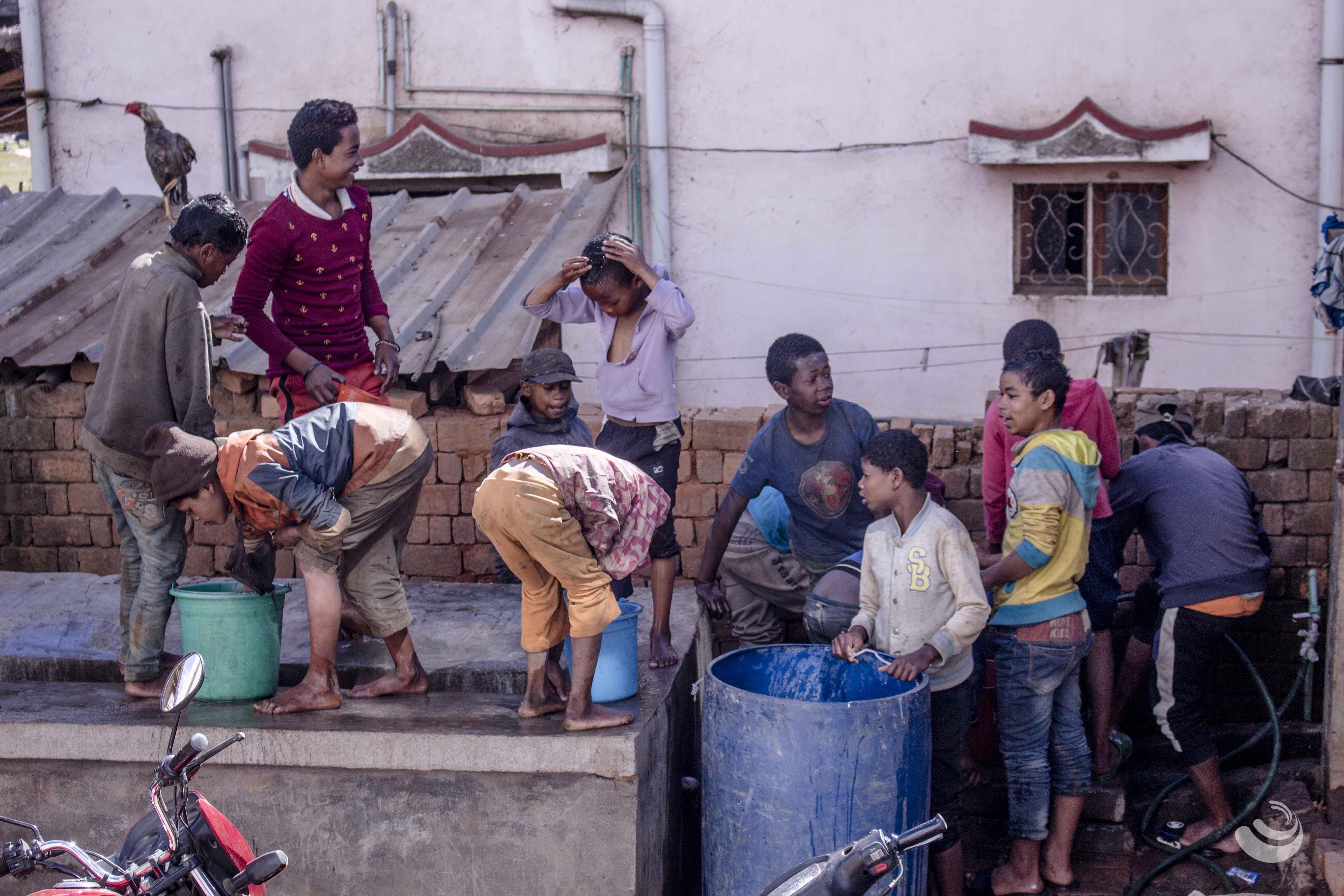 Hygiène Madagascar enfants